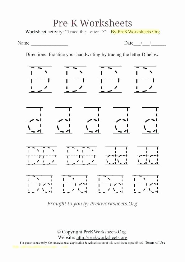 Letter H Tracing Worksheet Letter E Tracing Worksheets Lowercase Printable for