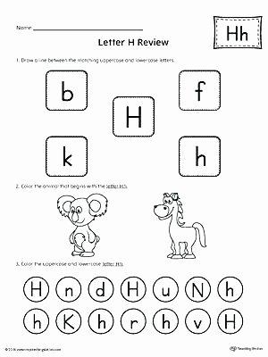Letter H Tracing Worksheets Preschool Letter H Worksheets Preschool All About Letter H Printable
