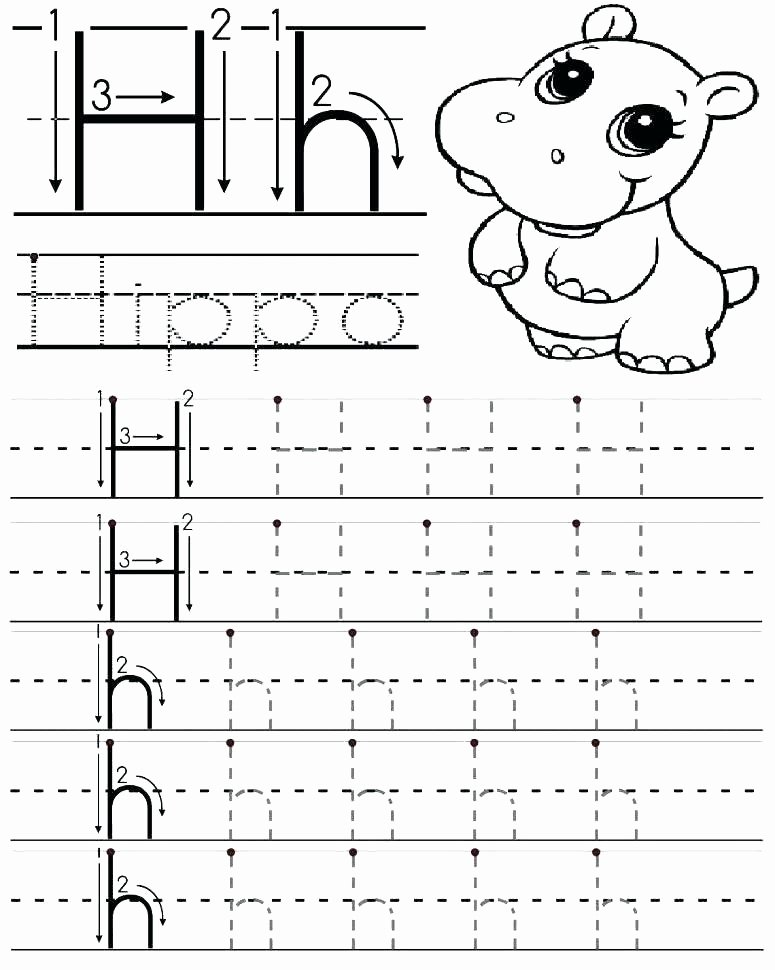 Letter H Worksheets for Kindergarten Image H Letter Words for Kindergarten Letter H Alphabet