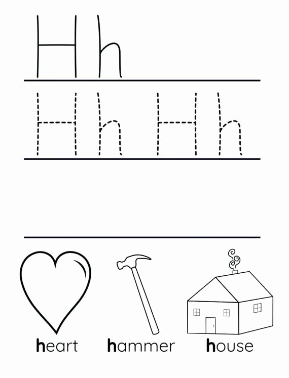 Letter H Worksheets for Preschool Preschool Letter H Worksheets – Petpage
