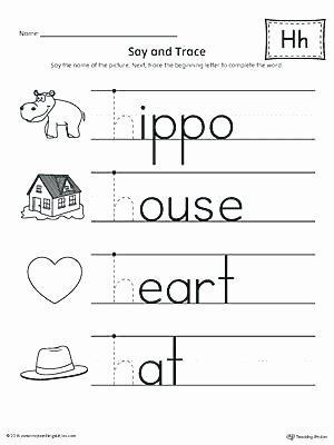 Letter H Worksheets for Preschoolers Cursive Letter H Free Printable Cursive Letter H Worksheet