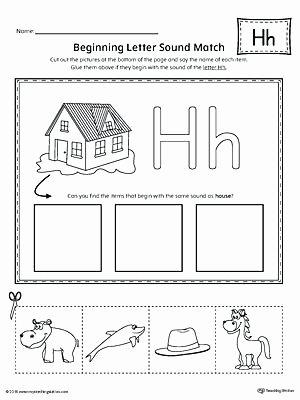 Letter H Worksheets for Preschoolers Letter Case Recognition Worksheet H sound Worksheets
