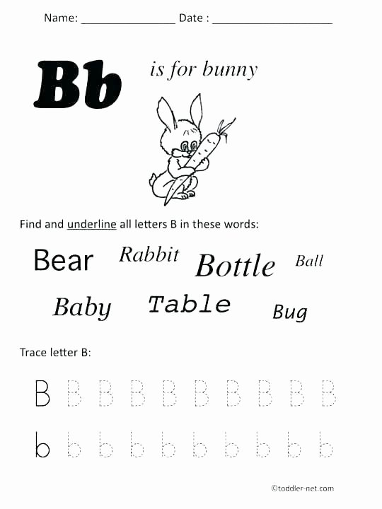 Letter H Worksheets for Preschoolers Printable Letter B Worksheets – butterbeebetty