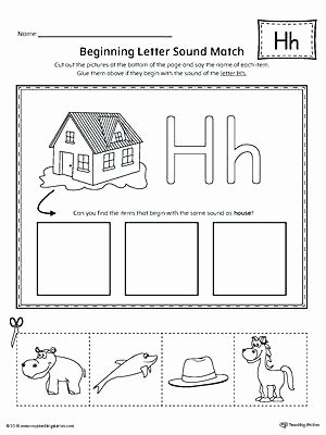 Letter H Worksheets Free Letter H Phonics Worksheets