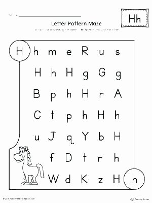 Letter H Worksheets Free Letter H Tracing Worksheets Preschool