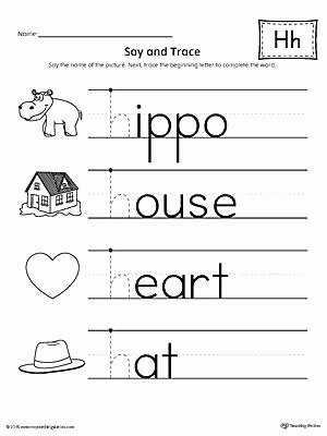 Letter H Worksheets Preschool Letter Case Recognition Worksheet H sound Worksheets