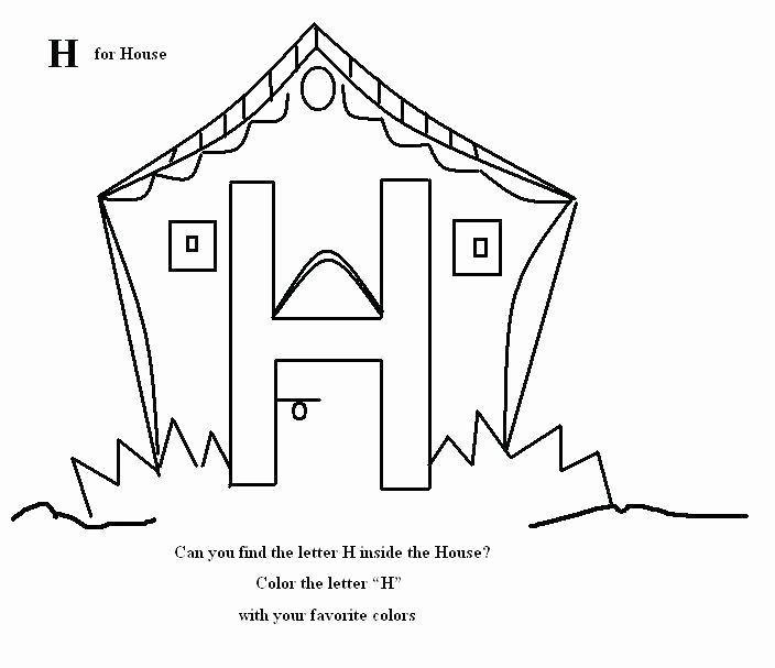 Letter H Worksheets Preschool Letter H Worksheets for Preschool Kindergarten L Tracing