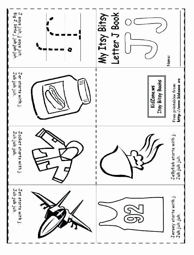 Letter J Worksheets Beautiful Free Printable Letter J Worksheets