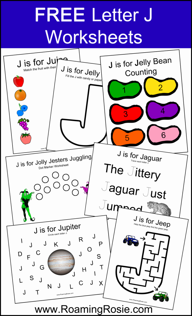 Letter J Worksheets Best Of Letter J Alphabet Activities Free Printable Worksheets From