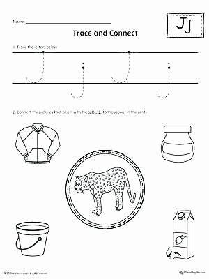 Letter J Worksheets Elegant Letter J Worksheets for Preschool