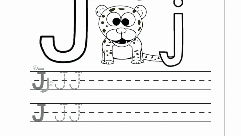 Letter J Worksheets New Free Printable Letter J Worksheets Writing for Grade 2 Evs