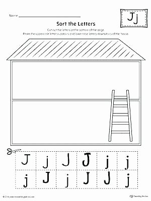 Letter J Worksheets New Letter J Tracing Worksheets