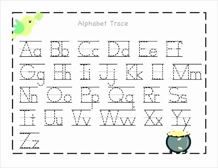Letter K Tracing Worksheets Preschool Alphabet Worksheets for Preschoolers Printable