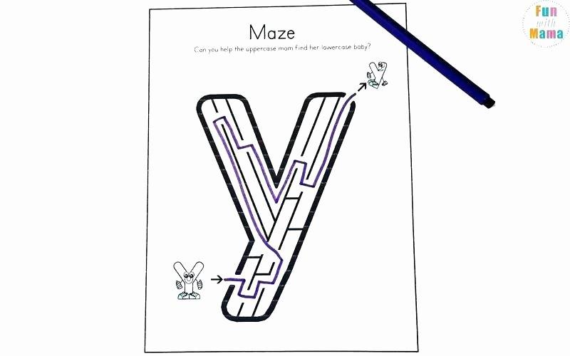 Letter M Worksheets for Preschoolers Learning Letter A Worksheets