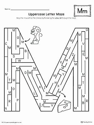 Letter M Worksheets for Preschoolers Letter M Worksheets for Preschoolers