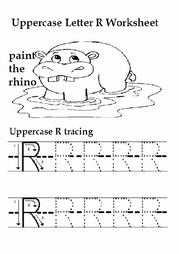 Letter M Worksheets for Preschoolers Letter R Worksheets Free