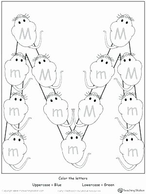 Letter M Worksheets for toddlers Letter M Tracing Worksheets and Writing Printable Worksheet