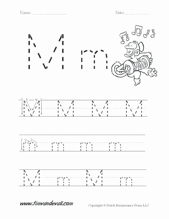 Letter M Worksheets for toddlers Lowercase Letter M Color by Letter Worksheet Uppercase
