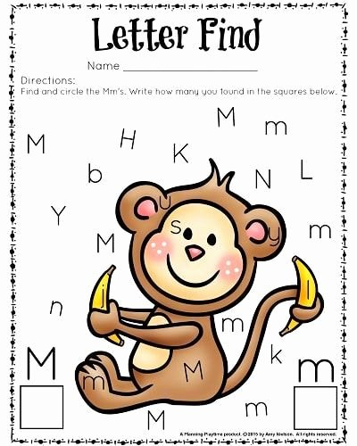 Letter M Worksheets for toddlers Pin On Letter Games