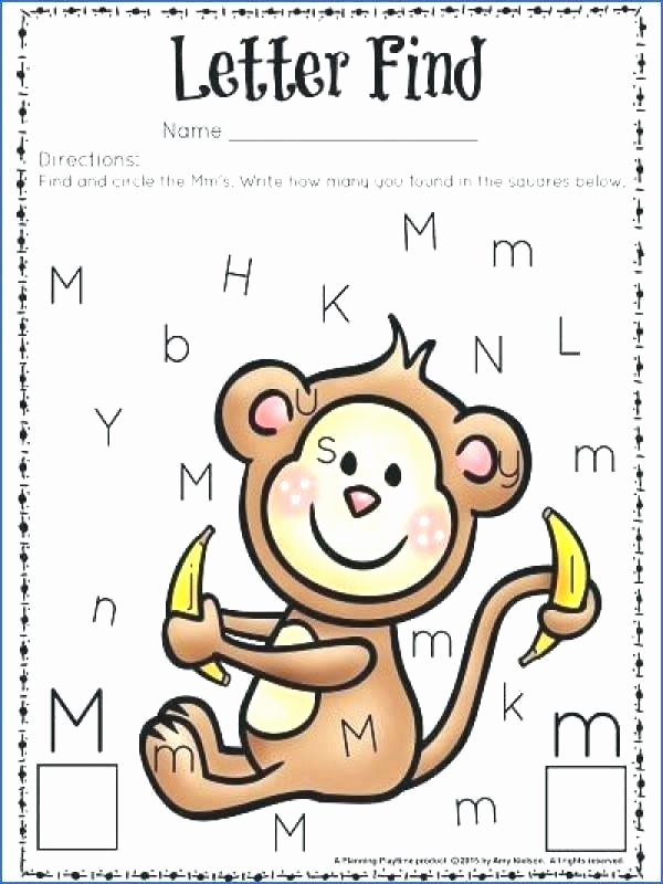 Letter M Worksheets Kindergarten Letter M Worksheets Activity Free sounds