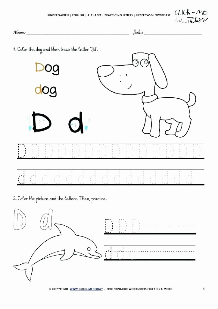 Letter N Tracing Page Beautiful Preschool Alphabet Writing Worksheets