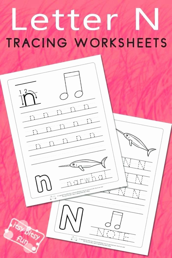 Letter N Tracing Page Best Of Letter Printing Worksheets – Slaterengineering