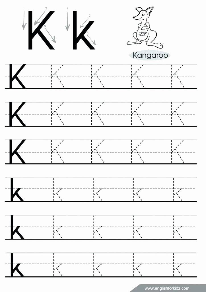 Letter N Worksheets for Kindergarten Dotted Line Alphabet Worksheets