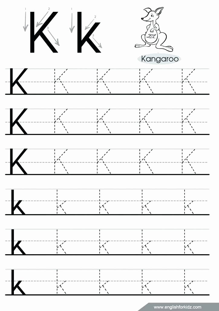 Letter N Worksheets for Preschool Dotted Line Alphabet Worksheets