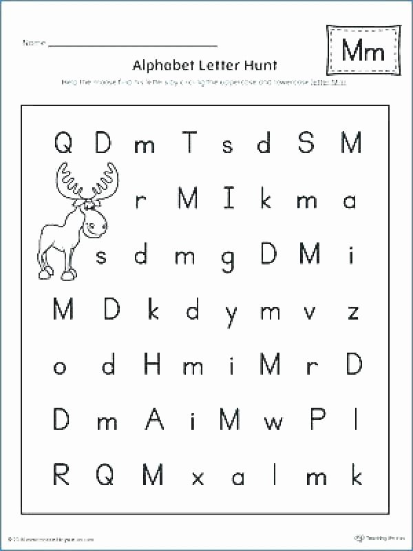 Letter N Worksheets for Preschool Practice Writing Letters Worksheets Preschool Printable
