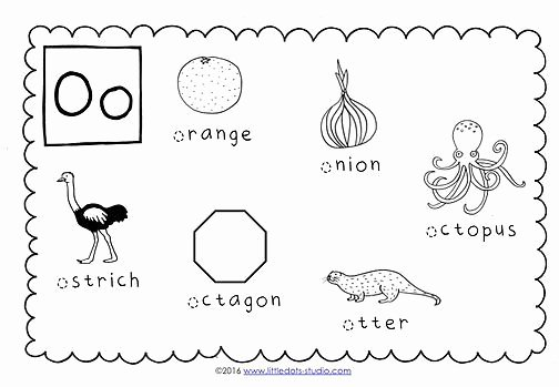 Letter O Worksheets for Preschool Preschool Letter O Activities and Worksheets