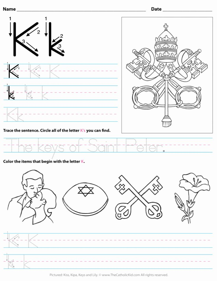 Letter P Worksheets for toddlers the Catholic Kid Catholic Coloring Pages and Games for