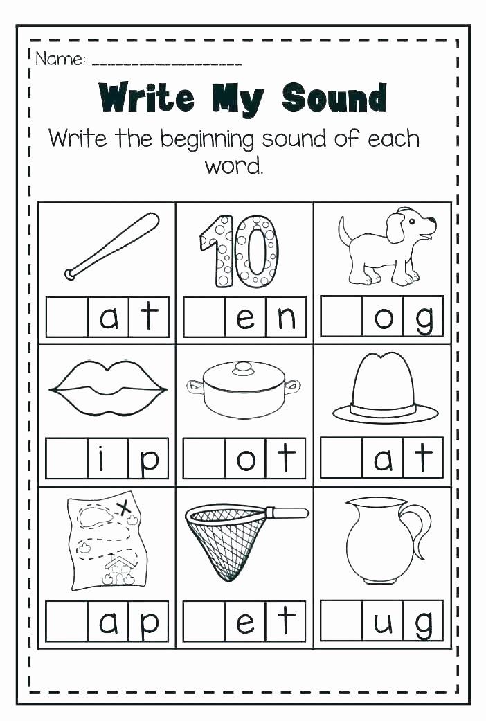 Letter P Worksheets Preschool Letter B Preschool Worksheets Beginning sound Printable Free