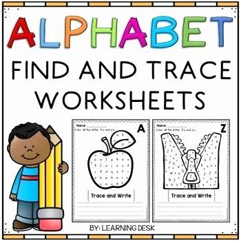 Letter Recognition Worksheets for Kindergarten Alphabet Worksheets for Kids Letter Recognition