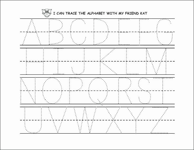 Letter Recognition Worksheets for Kindergarten Kindergarten Letter Recognition Worksheets Small Size Free