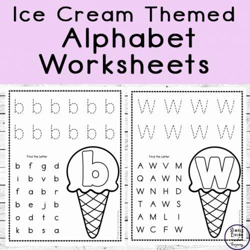 Letter Recognition Worksheets for Kindergarten Simple Living Creative Learning Page 12 Of 179