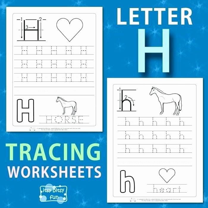 Letter Tracing Worksheets Az Letter H Tracing Worksheets Letter H Tracing Worksheets