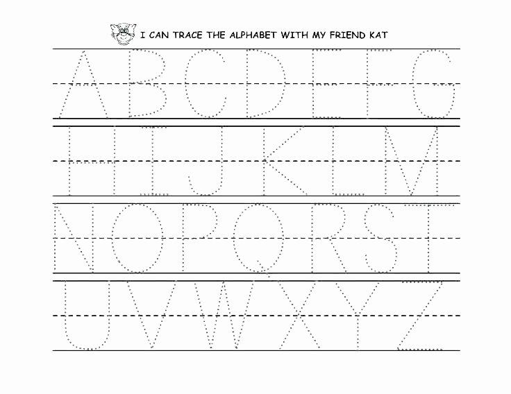 Letter Tracing Worksheets Az Traceable Letter Worksheets Traceable Letter Worksheets