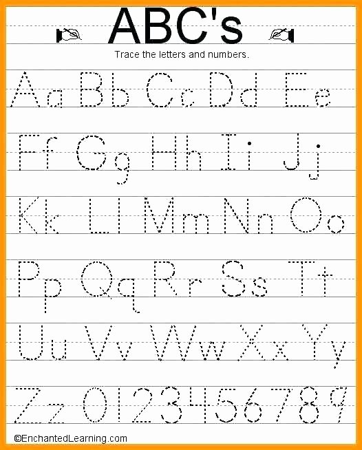 Letter Tracing Worksheets Pdf Awesome Letter Handwriting Worksheet Alphabet Tracing Worksheets