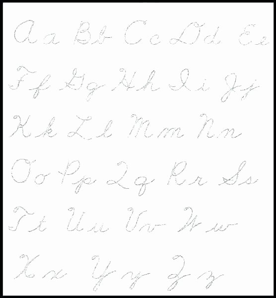 Letter Tracing Worksheets Pdf Elegant Cursive Letters Tracing Worksheets