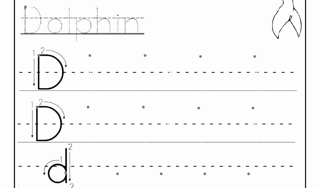 Letter Tracing Worksheets Pdf Fresh Letter Worksheets Printable K Tracing for Preschool Free