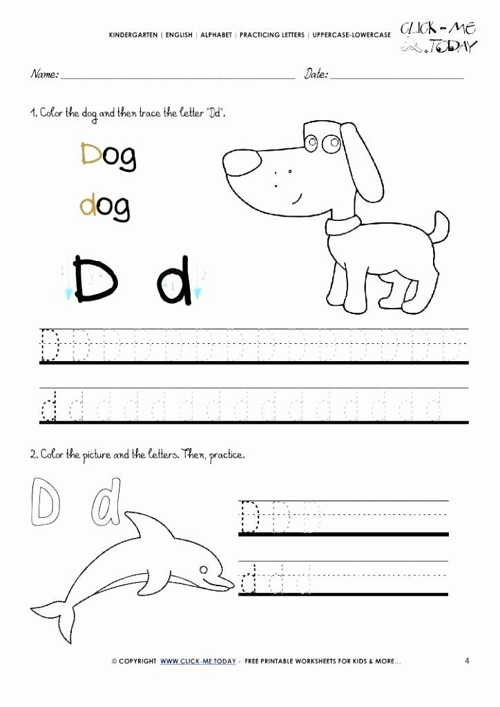 Letter U Worksheets for Kindergarten Printable Alphabet Worksheets for Pre K