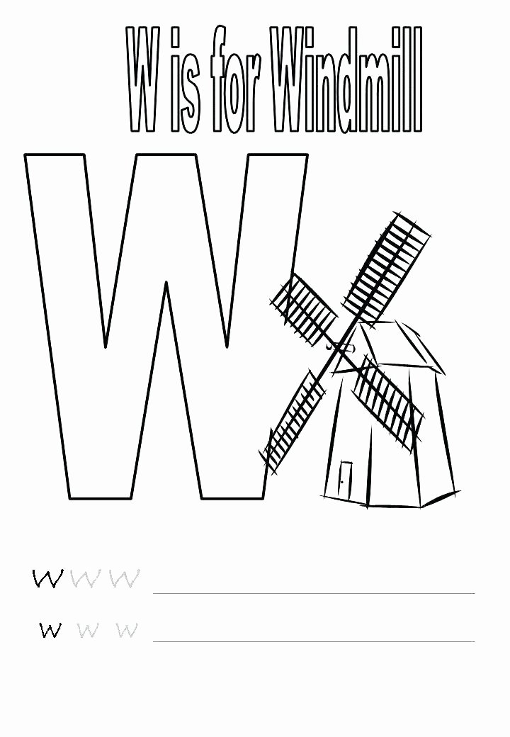 Letter W Worksheets for Preschoolers Preschool Printable Worksheets Educational Letter sound