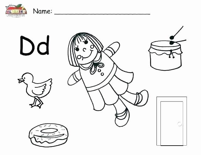 Letter X Worksheets for Kindergarten Letter D Tracing and Writing Printable Worksheet the
