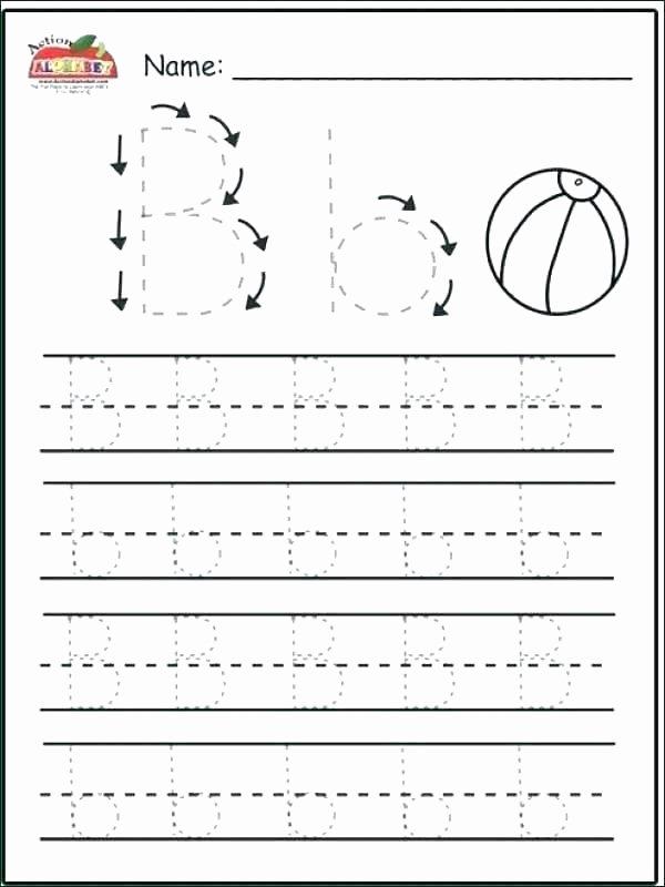 Letter X Worksheets for Kindergarten Letter Tracing Worksheet Printable D Create Worksheets Free