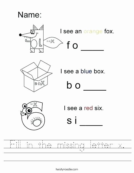 Letter X Worksheets for Preschool Worksheets for 2 Year Olds