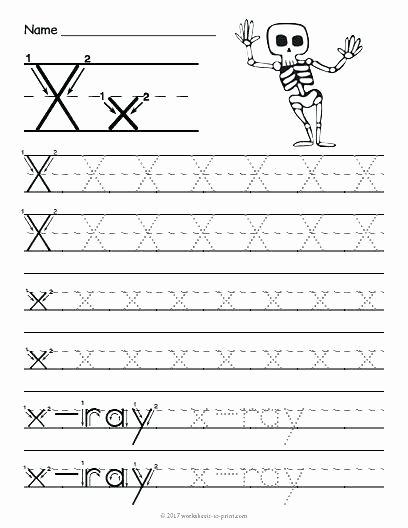 Letter X Worksheets Kindergarten Letter C Preschool Worksheets