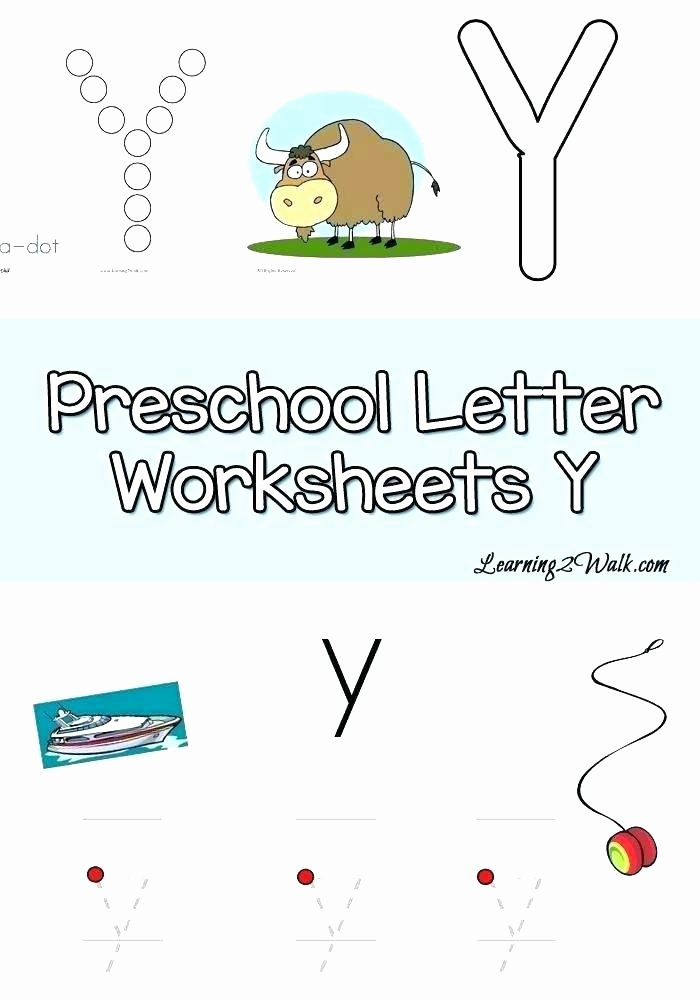 Letter X Worksheets Kindergarten Letter Y Worksheets Printable Preschool Free Tracing if You