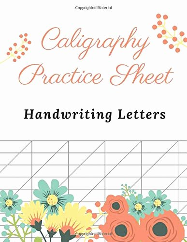 Lettering Practice Sheets Drafting Luxury Caligraphy Practice Sheet Writing Paper and Workbook for
