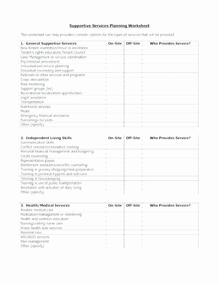 Life Management Skills Worksheets Beautiful Daily Life Skills Worksheets