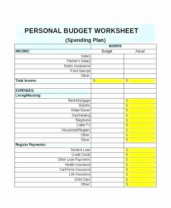 Life Management Skills Worksheets Luxury Free Money Management Worksheets
